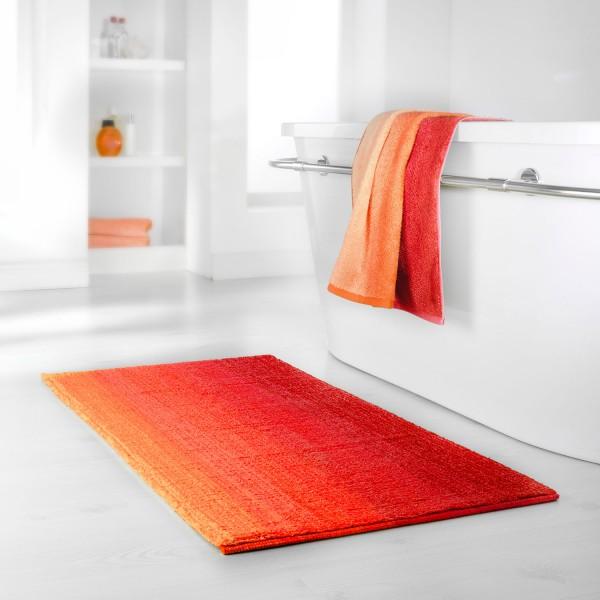 Badteppich-Serie Colori, rot