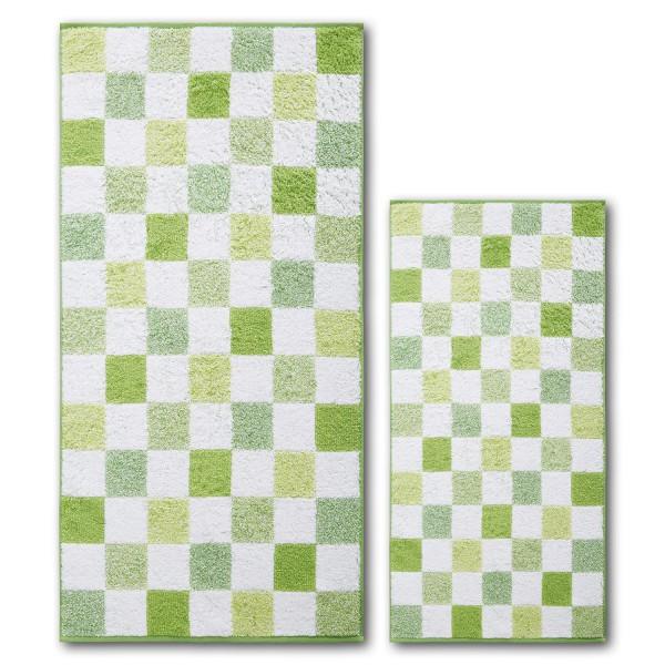 Frottierserie Green Paradise, Chessboard, grün