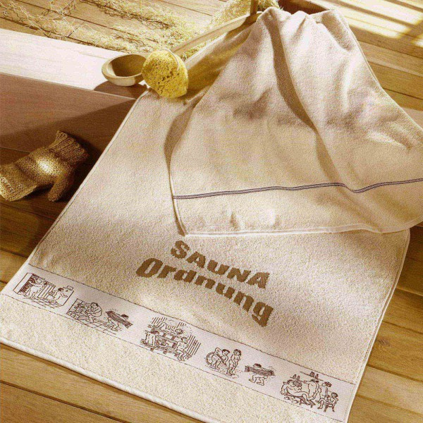 Saunatuch Saunaordnung