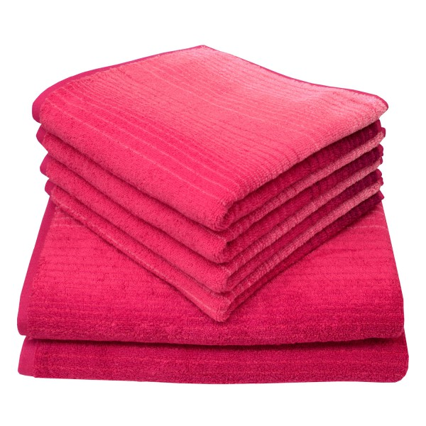 Frottierserie Colori, pink
