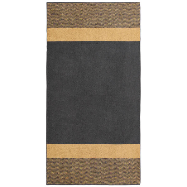 Saunatuch Two-Tone Stripe, gold