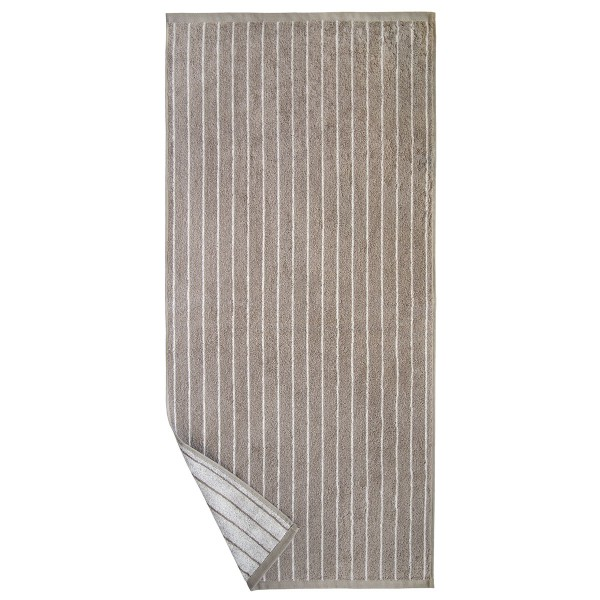 Basic Line Nadelstreifen, taupe