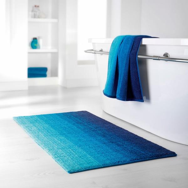 Badteppich-Serie Colori, blau