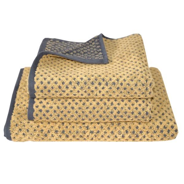 Frottierserie Golden Shades, Rhombus, gold