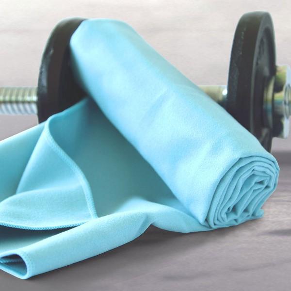 sporttuch-blau
