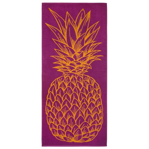 Strandtuch Ananas, magenta