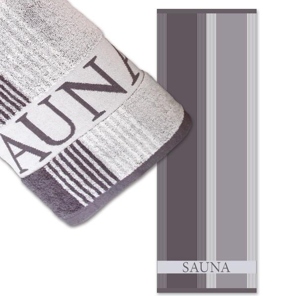 Saunatuch Sauna, anthrazit
