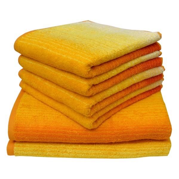 Frottierserie Colori, gelb