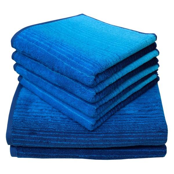 Frottierserie Colori, blau