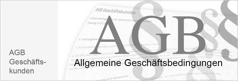 AGB Geschäftskunden