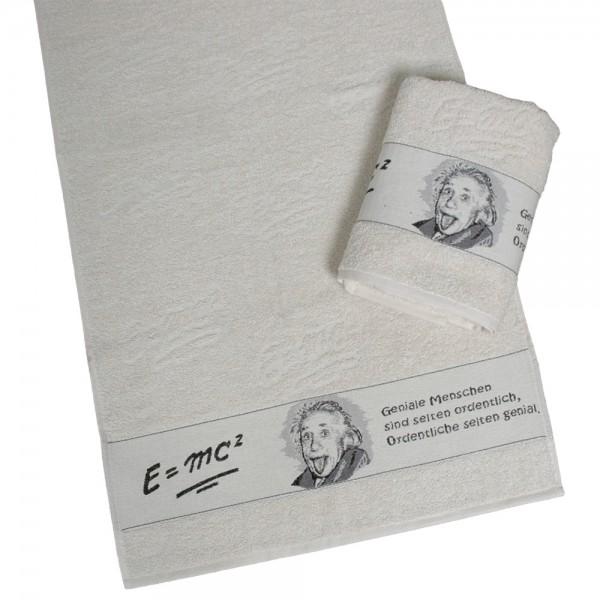 Frottiertücher Einstein E=mc'²